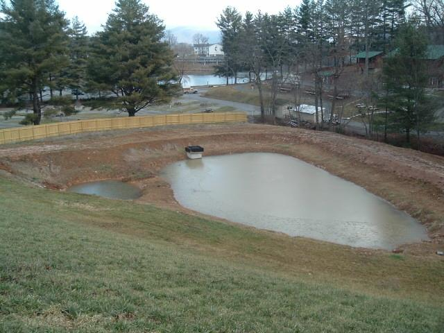 West consultants stormwater for Design of stormwater detention ponds